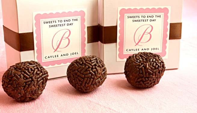 DIY Favors: Chocolate Truffles
