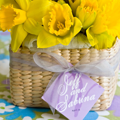 Bridal Shower Centerpieces on Daffodil Centerpiece     My Own Ideas