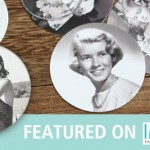 Birthday Coasters for Martha Stewart