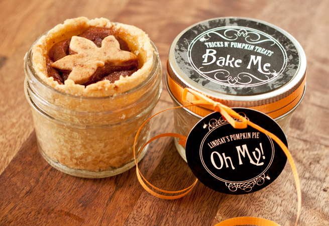 Pumpkin Pie In A Jar Evermine Occasions