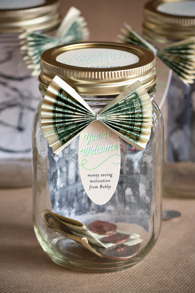 Personalized savings jar evermine occasions for Homemade gifts in a jar for men