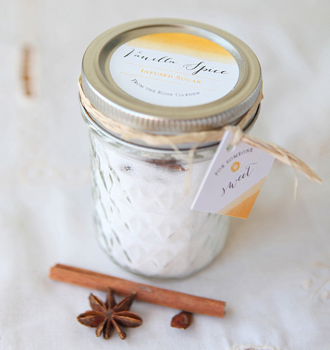 Infused Sugar from My Own Ideas blog #homemade #kitchen #baking #infusion #gift