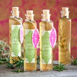 Rosemary Infused Vinegar from My Own Ideas blog #homemade #recipe #diy #kitchen #gift
