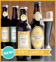New! Vinyl Labels