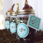 Bulb Favors from My Own Ideas blog #diy #spring #favor #wedding