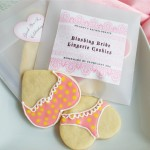 Lingerie Cookies recipe from My Own Ideas blog #wedding #bachelorette #bride #lingerie #cookies #recipe #baking #favor #diy