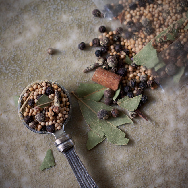 Pickling Spice Blend recipe from My Own Ideas blog #canning