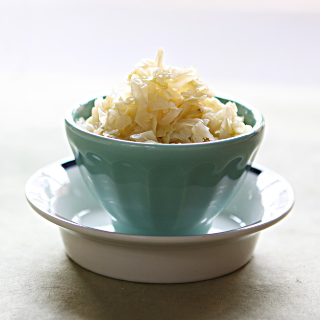 Homemade Sauerkraut from My Own Ideas blog #canning #garden #labels