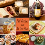 Fall Recipes & Entertaining Ideas from My Own Ideas blog