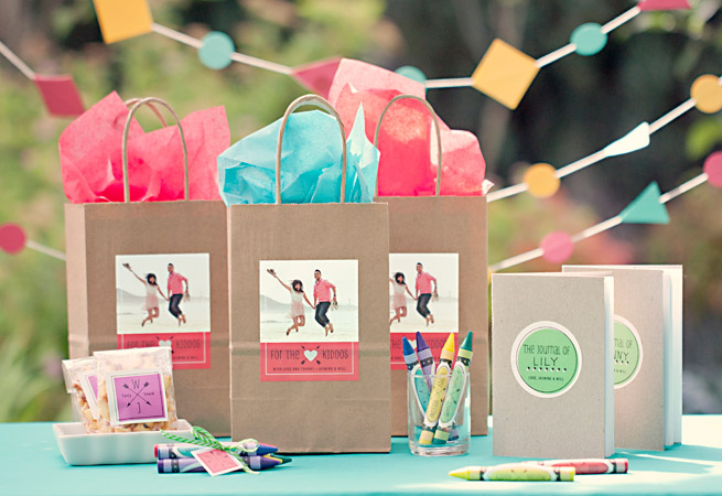 Vegas Wedding Gift Bag Ideas : Kid Wedding FavorEvermine Weddings