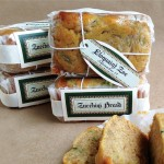 Zucchini Bread Welcoming Gift from My Own Ideas blog #recipe #homemade #packaging #labels