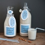 Homemade Almond Milk from My Own Ideas blog #recipe #drink #beverage #healthy