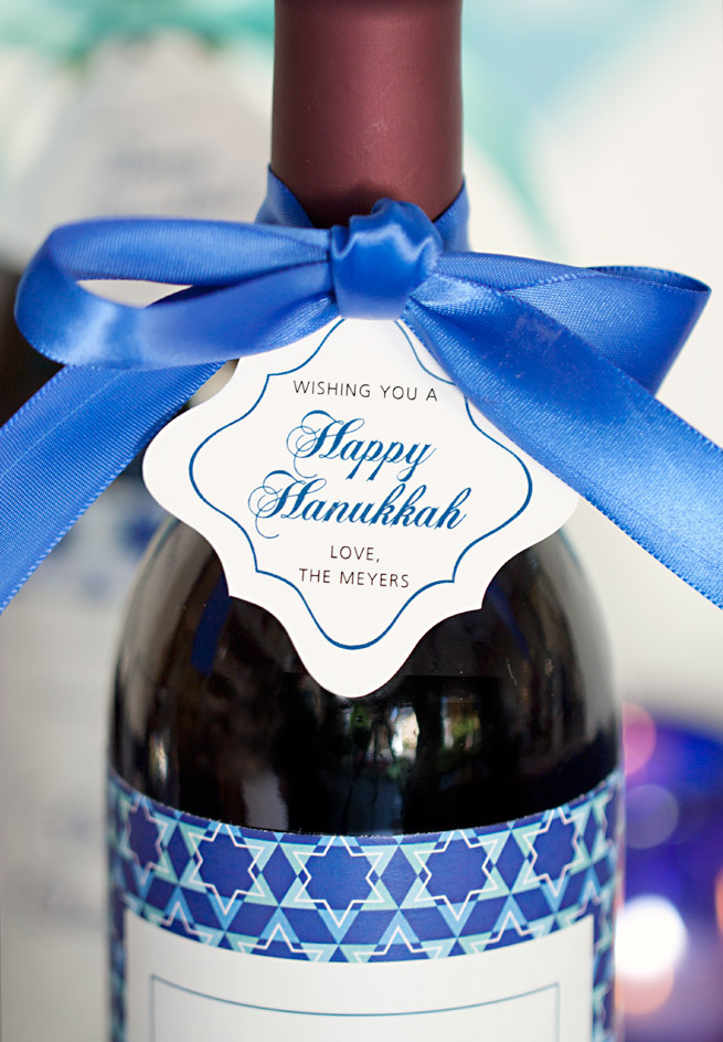 Celebrate Hanukkah with Free Printables from Evermine.com #holiday #chanukah #party #labels #tags #decoration