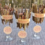 DIY Rustic Candle Holders #craft #nature #gift #handmade #decoration