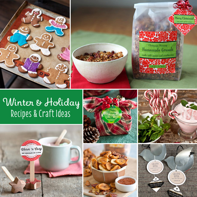 Our Most Popular Winter Holiday Recipes & Crafts