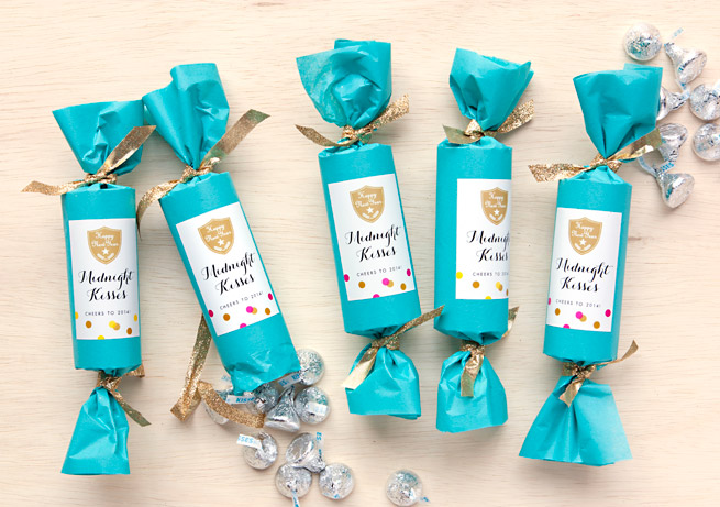 New Years Eve Party Favors Midnight Kisses Evermine Blog
