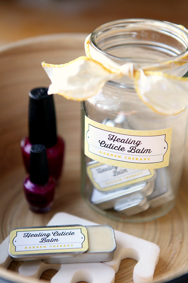 Healing Cuticle Balm #diy #beauty #cosmetic #homemade