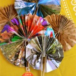 Handmade Paper Fans for Chinese New Year #yearofthehorse #diy #craft #gift #handmade