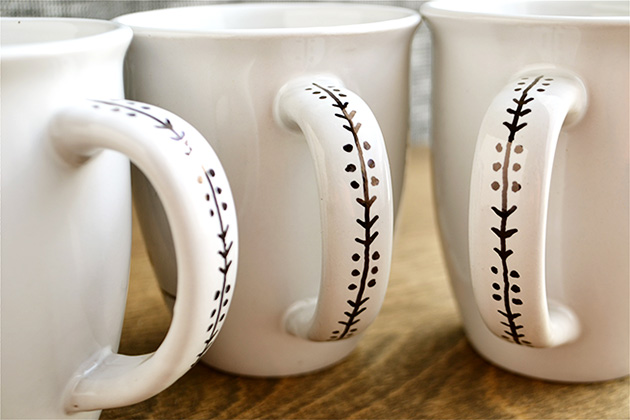 Diy Sharpie Mugs Evermine Blog