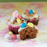 Easter Recipe: Carrot Cupcakes with Vanilla Cream Cheese Frosting