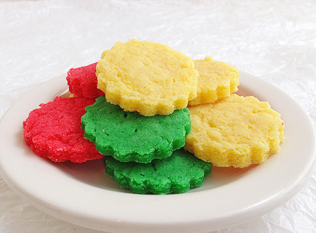 Homemade Jello Cookies #recipe #gift #dessert