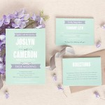 Casual Celebration Wedding Invitations and Stationery