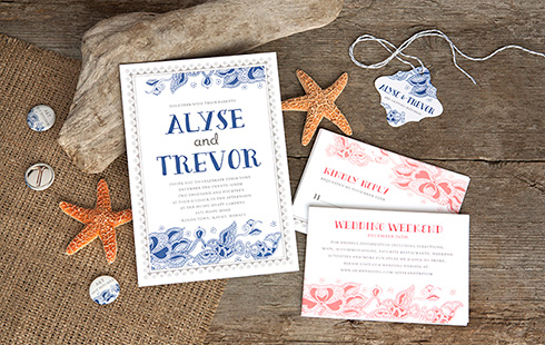 Sea & Sky Wedding Stationery
