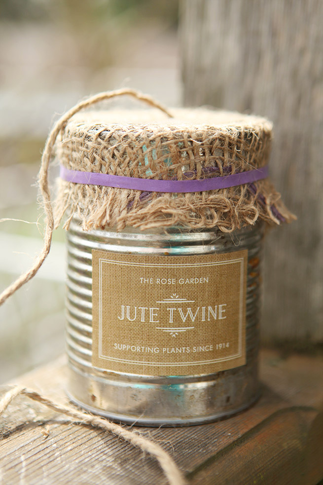 Twine in a Can #Diy #homemade #craft #garden #gift