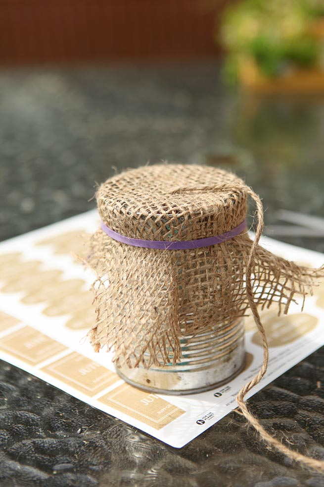 DIY Twine in a Can #homemade #gift #garden #craft