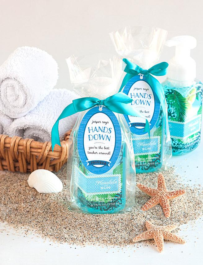 Easy Diy Hand Soap Gift Idea For Teachers Thankateacher