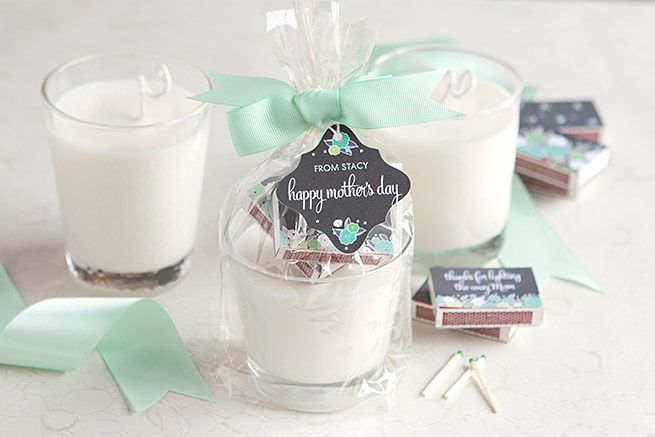 Diy Mother S Day Candles Evermine Blog