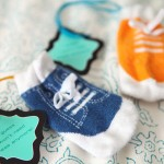 Baby Sock Coin Purse