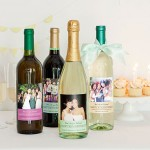 Milestone Birthday Wine Labels with personalized wine bottle labels from Evermine {www.evermine.com}