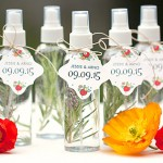 Wedding Favor: Herbal Spray Misters
