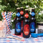 Root Beer Float Kits for 4th of July with Personalized Liberty Labels from Evermine (www.evermine.com)