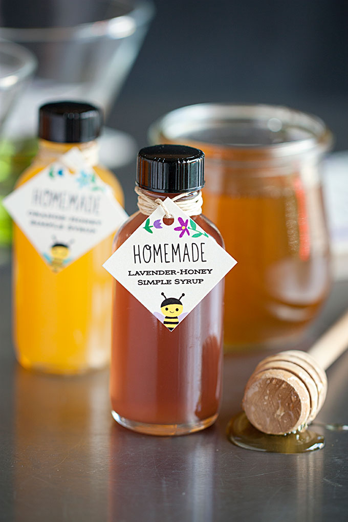 Saturday Sips! The Bee's Knees with Lavender and Orange-Infused Honey Simple Syrup (www.evermine.com)