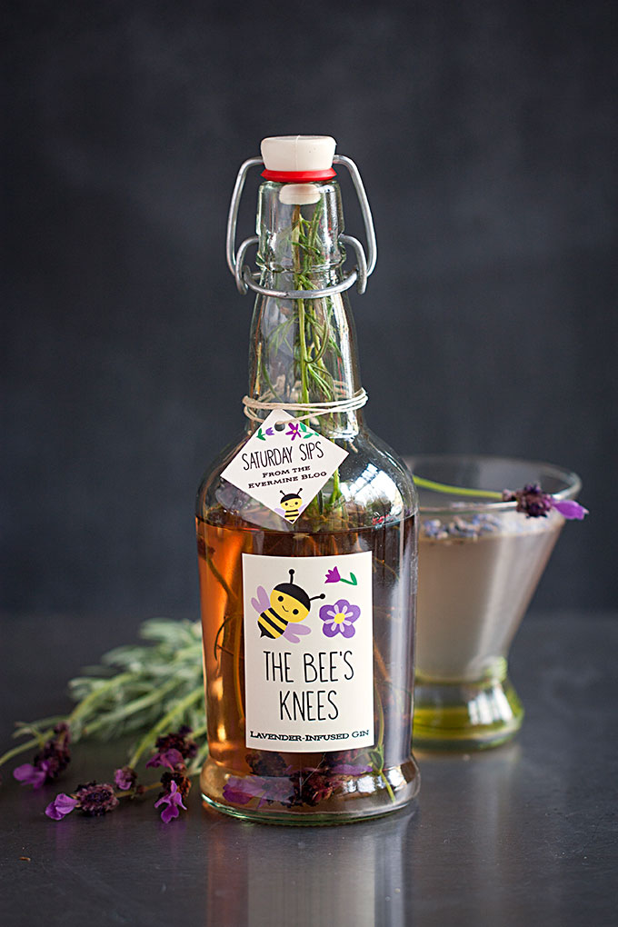 Saturday Sips! The Bees Knees with Lavender-Infused Gin