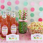 Circus Baby Shower + Candy Popcorn Favors