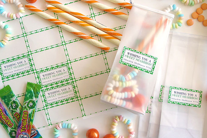 DIY Candy Gift Bags for Kids