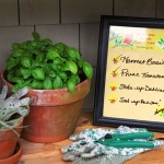 DIY Dry-Erase To-Do List using Evermine's Woodland Owl labels {www.evermine.com}