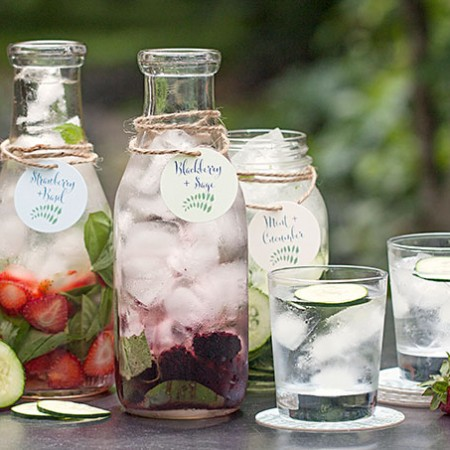 Saturday Sips! Flavored Waters