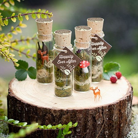 Faerie Terrarium Wedding Favors
