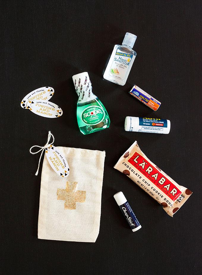 DIY Wedding Hangover Kit — Evermine Blog