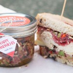 Homemade Muffuletta Sandwich Spread with personalized packaging from Evermine {www.evermine.com}