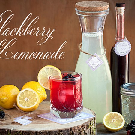 Saturday Sips! Blackberry Lemonade