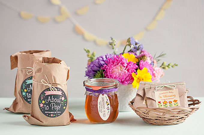 3 Easy Baby Shower Favor Ideas | The Evermine Blog | www.evermine.com