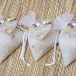Lavender and Chamomile Epsom Salt Bridal Shower Favors | The Evermine Blog | www.evermine.com