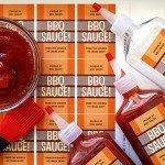 Easy Homemade BBQ Sauce Favors | The Evermine Blog | www.evermine.com