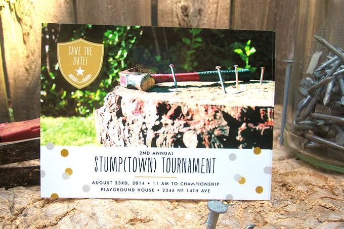 Stump Tourney Invites | The Evermine Blog | www.evermine.com
