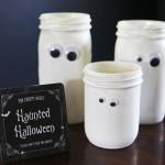 Halloween Ghost Jars for Halloween | Evermine Blog | www.evermine.com
